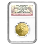 2012-W 1/2 oz Frances Cleveland - 1st Term MS-70 NGC