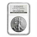 2006-P (Reverse Proof) Silver Eagle PF-69 NGC (BL)