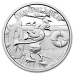 2014 1 oz Silver $2 Niue Disney Steamboat Willie (May 9th)