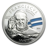 Cook Islands 2014 Silver $2 Pope Franciscus