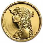Egypt AH1414/1993 Proof Gold 50 Pound Cleopatra