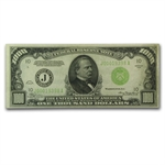 1934 (J-Kansas City) $1,000 FRN (VF+) LGS