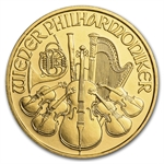 1998 1/4 oz Gold Austrian Philharmonic - Brilliant Uncirculated