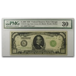 1928 (G-Chicago) $1,000 FRN (PMG Very Fine 30)