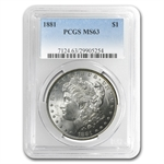 1881 Morgan Dollar - MS-63 PCGS