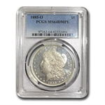 1885-O Morgan Dollar - MS-64 DMPL Deep Mirror Proof Like PCGS