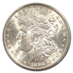 1898 Morgan Dollar - MS-65 PCGS