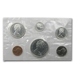 1959-1967 6-Coin Canadian Prooflike Silver Coin Sets (1.11 ASW)