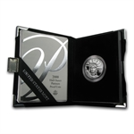 2000-W 1/2 oz Proof Platinum American Eagle (w/Box & CoA)