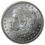 1880-CC Morgan Dollar Brilliant Uncirculated - GSA Holder