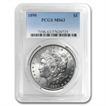 1890 Morgan Dollar - MS-63 PCGS