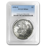 1898-O Morgan Dollar - MS-64 PCGS