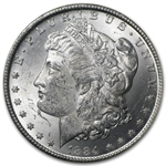 1884-CC Morgan Dollar Brilliant Uncirculated - GSA Holder