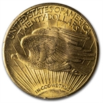 1928 $20 St. Gaudens Gold Double Eagle - MS-63 PCGS