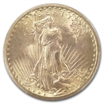 1907 $20 St. Gaudens Gold Double Eagle - MS-65 PCGS