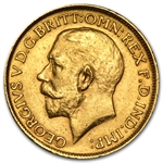 Great Britain Gold Sovereign (Avg Circ) Random Dates