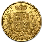 1857 Great Britain Sovereign Victoria (Extra Fine)