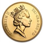 Great Britain Gold 5 Pounds (Random Dates) Proof/Unc