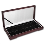 Lunar Series I (1 oz Gold) - 12 Coin Wood Presentation Box