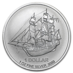 2015 Cook Islands 1 oz Silver Bounty Coin (.9999 Fine)