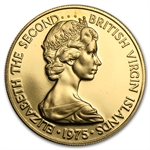 British Virgin Islands 1975 100 Dollar Gold Proof