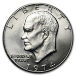 1974-D Eisenhower Dollar - Brilliant Uncirculated - Roll 20 coins