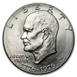 1976-D Type-2 Eisenhower Dollar - BU - Roll 20 coins