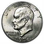 1978 Eisenhower Dollar - Brilliant Uncirculated - Roll 20 coins