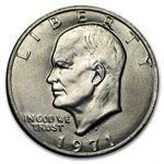 1971-D Eisenhower Dollar - Brilliant Uncirculated - 20 Count Roll