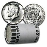 Kennedy Half Dollars (1964 - Date) (Silver Coins, Rolls & Bags)