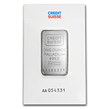 1 oz (Palladium Bars & Rounds)
