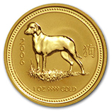 Perth Mint Gold (2006 Dog Coins)