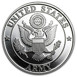 Armed Forces (Silver Rounds and Bars)