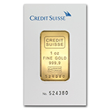 Credit Suisse (Gold Bars & Rounds)
