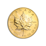 1/2 oz Proof Gold Maple Leafs