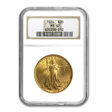 NGC $20 Double Eagles (Saint Gaudens 1907-1933)