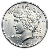 Peace Dollars (1921 - 1935) (Date Specific)