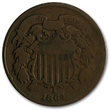 2 Cent Pieces (1864 - 1873)