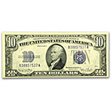 $1 - $10 Silver Certificates