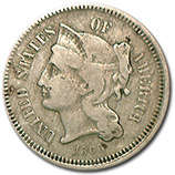 3 Cent Nickels (1865 - 1889)