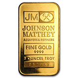 2 oz (Gold Bars & Rounds)