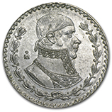 Vintage Mexican Silver Coins (Most Common)