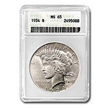 Peace Dollars (1921-1935) (Other Certified)