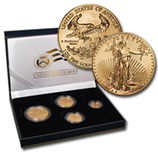Gold Eagle Coin Sets (Burnished)