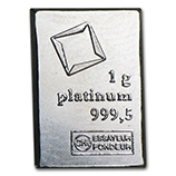 1 Gram (Platinum Bars & Rounds)