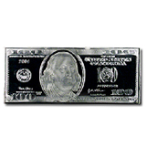 US Currency Replica (Silver Bars)
