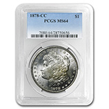 Morgan Dollars (1878 - 1904) (PCGS Date Specific)