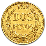 Gold 2 Pesos  (1947 & Prior)