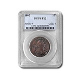 Large Cents (1793 - 1857) (Certified)