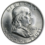 Franklin Half Dollars (1948 - 1963)